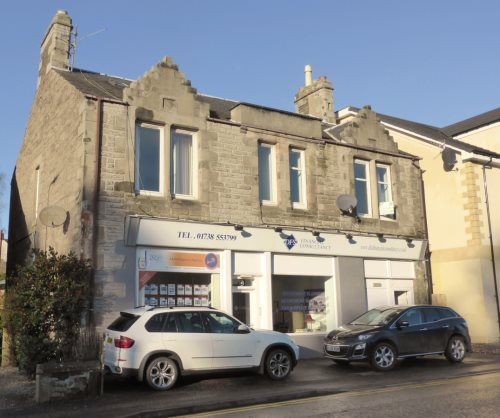 Fantastic 4 bedroom flat spread over two floors, located in Scone. First floor: living room, bedroom, kitchen & boxroom. Second floor: 3 bedrooms and bathroom. Property benefits from Gas Central Heating and Double Glazing throughout.