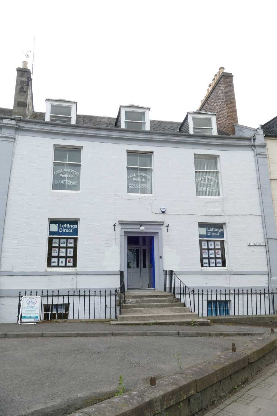 Traditional office space in Perth City Centre. Last remaining unit.  Monthly rent to be confirmed. Well maintained and near fully occupied office building.The property is highly prominent located on Atholl Crescent adjacent to the North Inch Parklands.